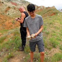 Paleontological tour