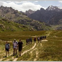 """School trips to Central Asia. """"Wildlife of the SouthernTien-Shan"""" OUTDOOR EDUCATION"""